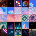 Graphice app homescreen