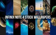 Infinix Note 4 Stock Wallpapers