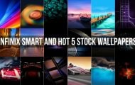 Infinix Smart and Hot 5 Stock Wallpapers