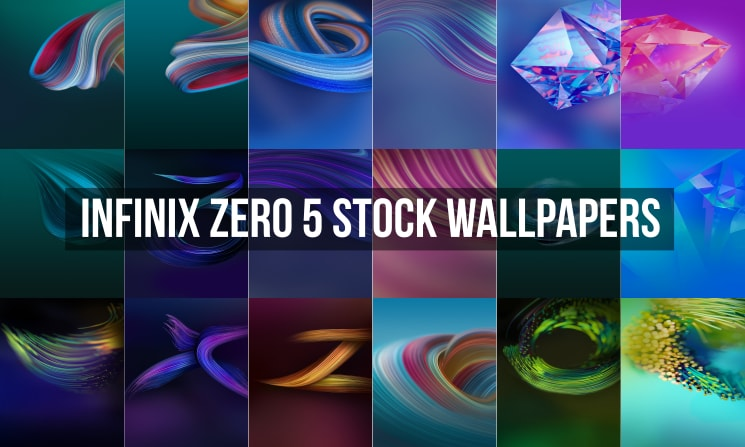 Infinix Zero 5 Stock Wallpapers