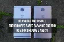 Android Oreo based Paranoid Android ROM for OnePlus 3 and 3T