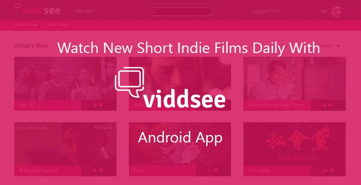 Watch New Short Indie Films Daily With