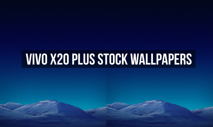 Vivo X20 Plus Stock Wallpapers