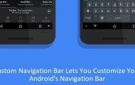 Custom Navigation Bar Lets You Customize Your Android's Navigation Bar Without Root