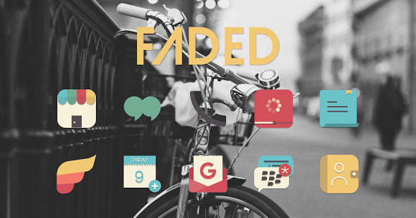 Faded Icon Pack