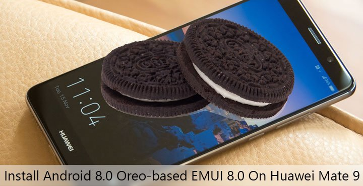 EMUI 8.0 on Huawei Mate 9
