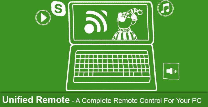 Unified Remote - A Remote Control For Your PC
