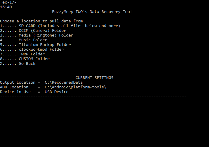 ADB Data Recovery Tool - Recover Data from Damaged Android Phone