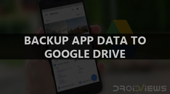 Samsung Galaxy S8 - Automatically Backup App Data to Google Drive