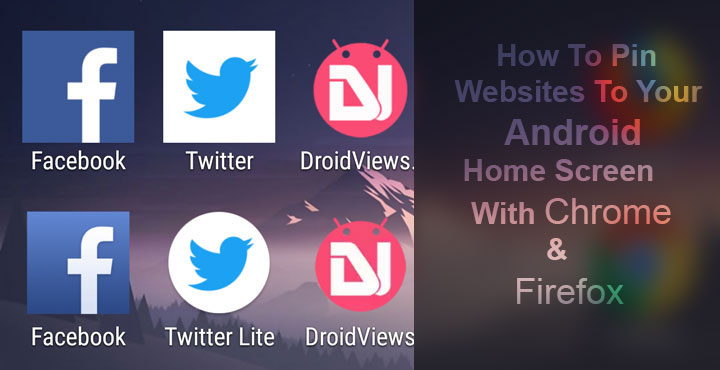 Pin Websites to Home Screen on Android