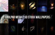Coolpad Mega 2.5D Stock Wallpapers