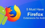 Firefox Extensions for Android