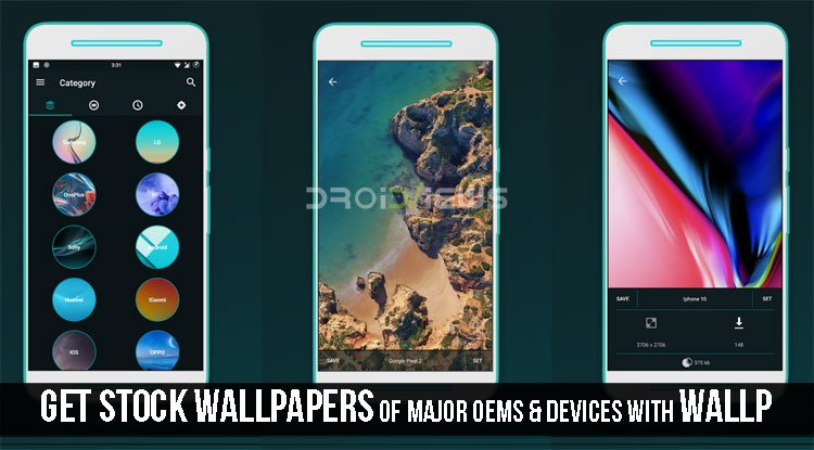 Get Stock Wallpapers of Major OEMS & devices With Wallp