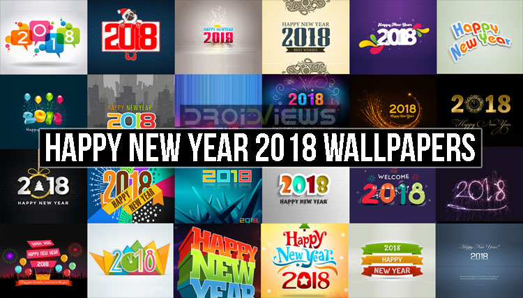 Happy New Year 2018 Wallpapers (FHD)