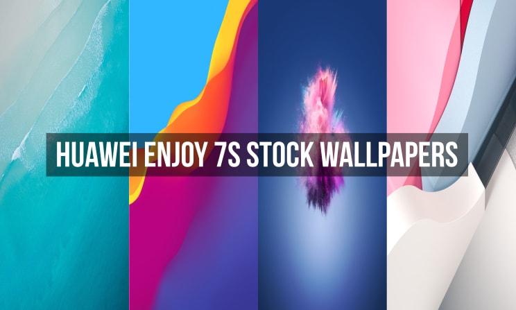Huawei Enjoy 7S Stock Wallpapers