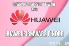 Huawei Firmware Finder