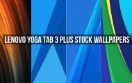 Lenovo Yoga Tab 3 Plus Stock Wallpapers