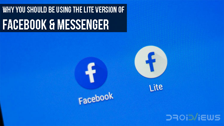 Lite Version of Facebook & Messenger