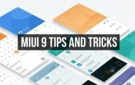 12 MIUI 9 Tips and Tricks