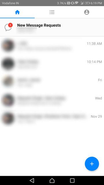 Messenger vs Messenger Lite