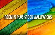 Redmi 5 Plus Stock Wallpapers