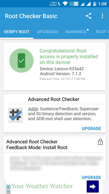 root access verification