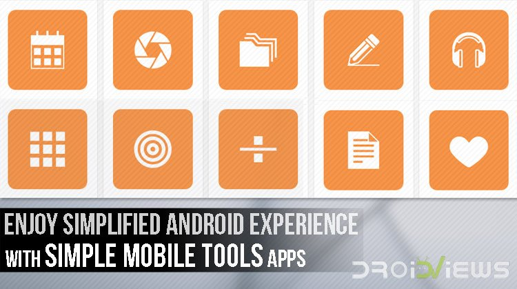 Simple Mobile Tools Apps
