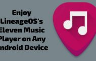 LineageOS Eleven Music Player