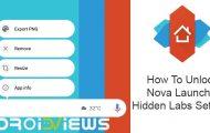 How To Unlock Nova Launcher Hidden Labs Settings