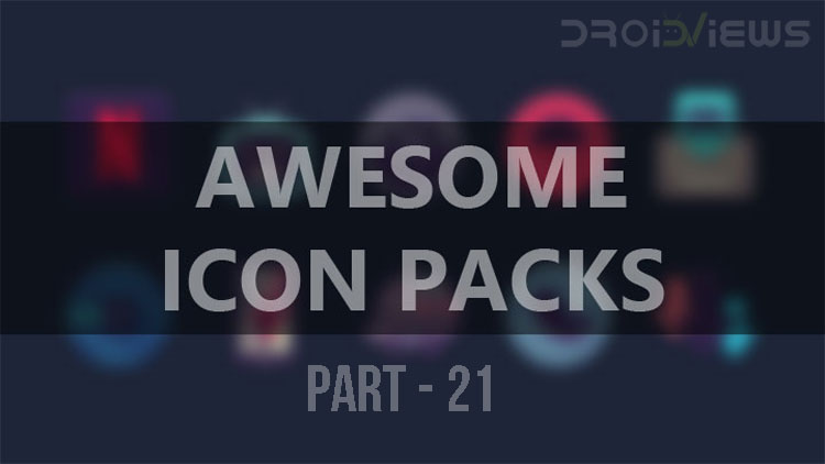 4 Awesome Icon Packs