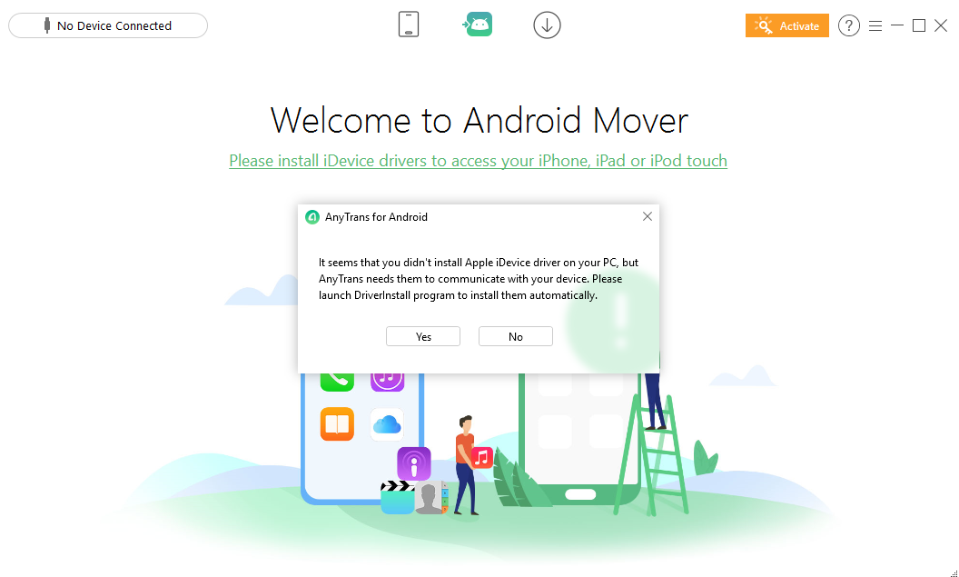 anytrans android driver