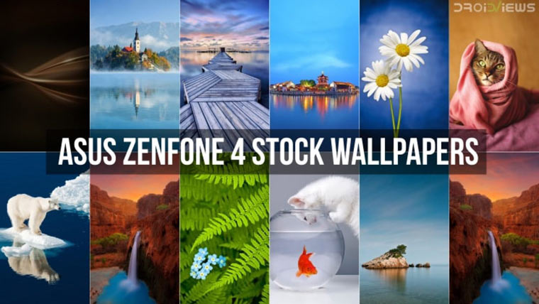 Asus Zenfone 4 Stock Wallpapers