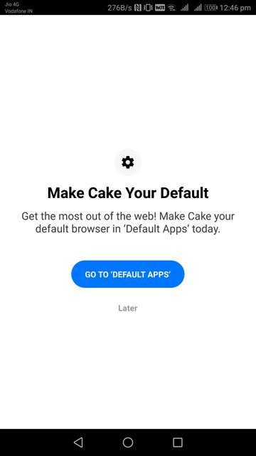 Cake Web Browser Attempts To Redefine How You Search The Web