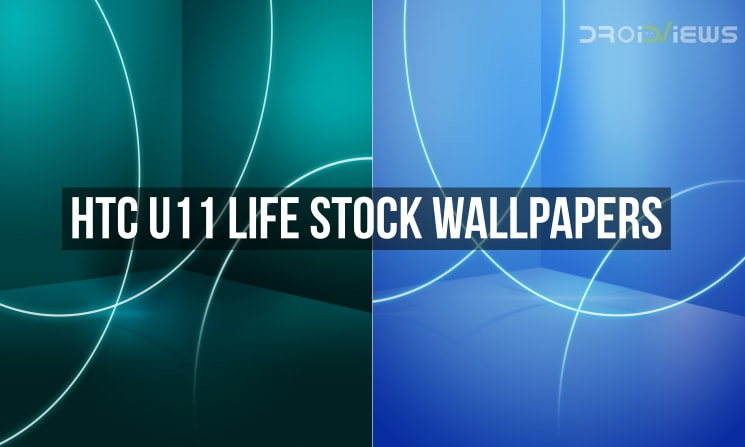 HTC U11 Life Stock Wallpapers