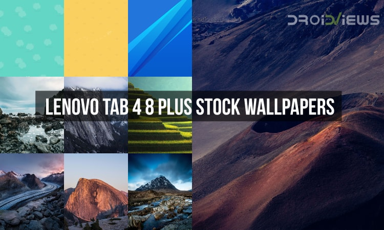 Lenovo Tab 4 8 Plus Stock Wallpapers