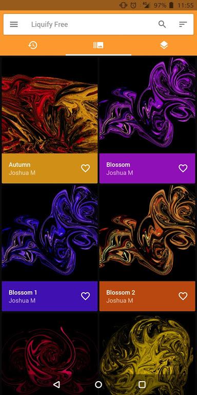 liquify wallpaper app