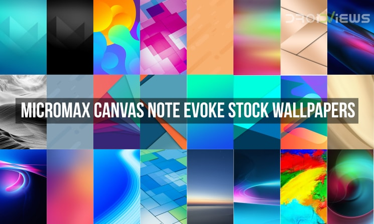 Micromax Canvas Note Evoke Stock Wallpapers