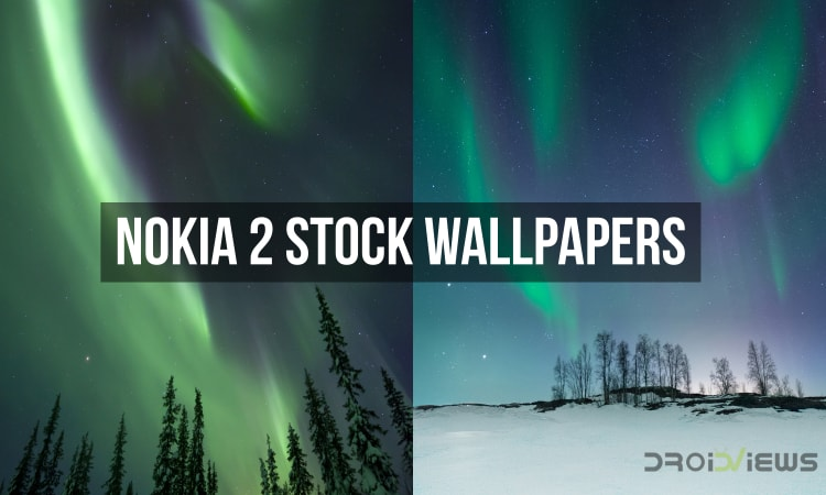 Nokia 2 Stock Wallpapers