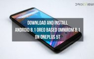 OnePlus 5T Android 8.1 Oreo-based OmniROM 8.1