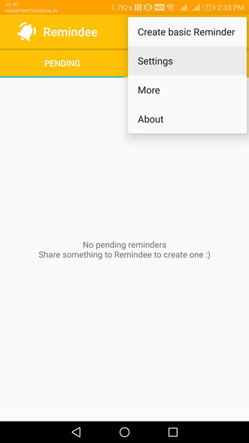 Remindee Lets You Set Reminders From Anywhere Without Opening The App