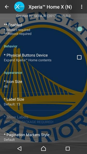 Serajr Xperia Home X Adds A Ton Of Features To Your Xperia Home Launcher