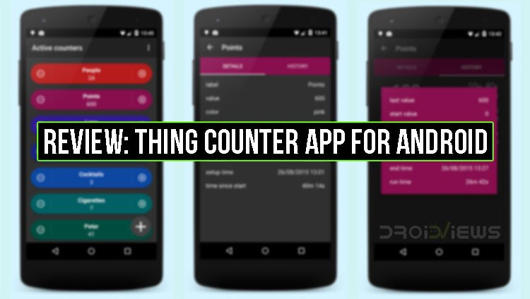 Thing Counter App for Android
