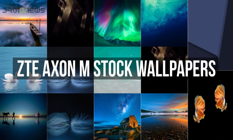 ZTE Axon M Stock Wallpapers