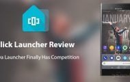 Flick Launcher review