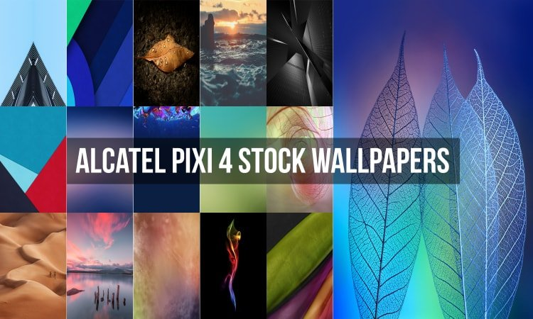 Alcatel Pixi 4 Stock Wallpapers