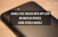 Enable Face Unlock with App Lock on OnePlus Devices