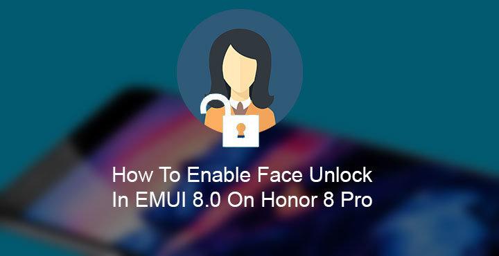 Face Unlock Flashable Zip Oreo