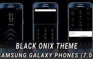 Black Theme on Samsung
