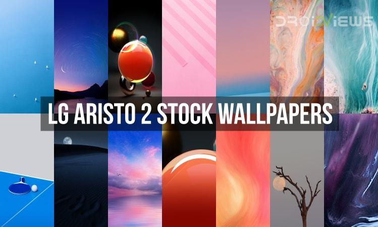 LG Aristo 2 Stock Wallpapers