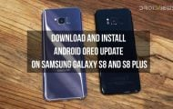 Android Oreo Firmware on Samsung Galaxy S8 and S8 Plus (Exynos)